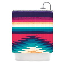 Surf Polyester Shower Curtain