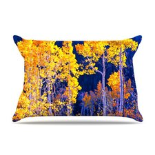 Aspen Trees Fleece Pillow Case
