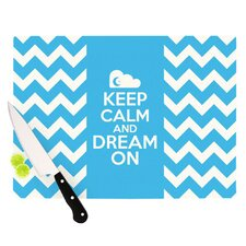Keep Calm Cutting Board