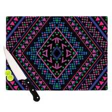 Neon Pattern Cutting Board