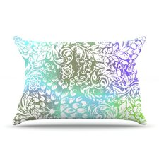 Blue Bloom Softly for You Fleece Pillow Case