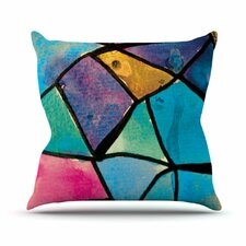 Stain Glass 2 Throw Pillow