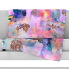 Sparkle Mist Fleece Throw Blanket