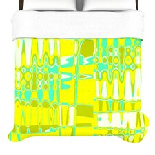 Changing Gears in Sunshine Duvet Cover