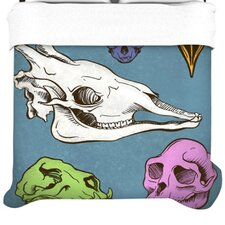Skulls Fleece Duvet Cover