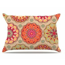 Festival Folklore Fleece Pillow Case
