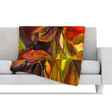 Mirrored in Nature Fleece Throw Blanket
