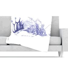 Queen of The Sea Fleece Throw Blanket