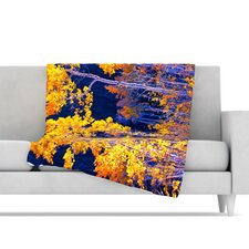 Aspen Trees Fleece Throw Blanket