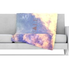 Exhale Fleece Throw Blanket