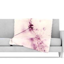 Blush Microfiber Fleece Throw Blanket