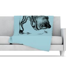 Hot Tub Hunter II Microfiber Fleece Throw Blanket