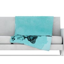 All Aboard Microfiber Fleece Throw Blanket