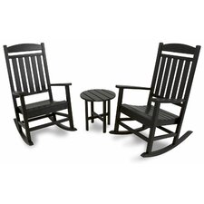 Ivy Terrace 3 Piece Rocker Seating Group