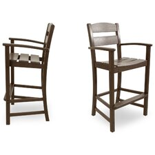 Ivy Terrace Bar Arm Chair (Set of 2)