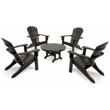 Ivy Terrace Classics 5 Piece Adirondack Seating Group