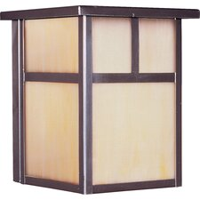 Craftsman Small Outdoor Wall Lantern