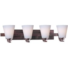 Conical 4 Light Bath Vanity Light