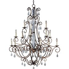 Hampton 15 Light Chandelier