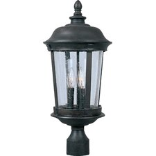 Dover VX 3 Light Outdoor Post Lantern