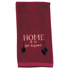 Home Embroidered Terry Kitchen Towel