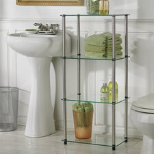 Classic Glass Four Tier Tower