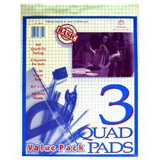 50 Count Quad Pads 3 Count