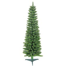6' Green Pencil Artificial Christmas Tree