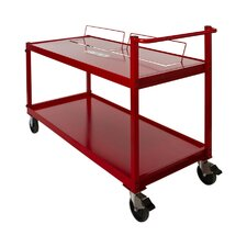 2 Tier Metal Cart