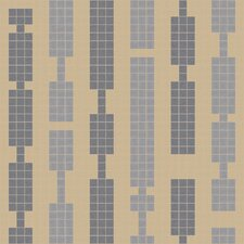 "Urban Essentials 24"" x 24"" Marimba Mosaic Pattern Tile in Urban Khaki"