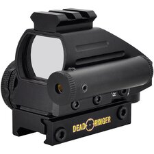 24x34mm 4 Retical 2 Color Monteria Red Dot Sight With Laser