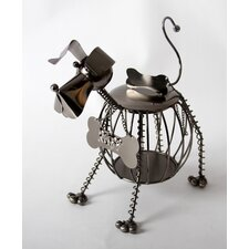 "Unleashed ""Ruff"" Doggie Tabletop Wine Rack"