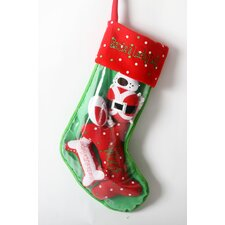 "Santa""s Lucky Dog ""Santa Dog"" Holiday Pet Stocking and Toy Set"