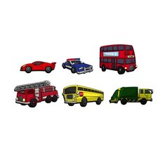 Automobiles 3D Cartoon Wall Art
