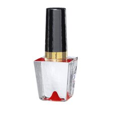 Make Up Nailpolish Bottle in Red