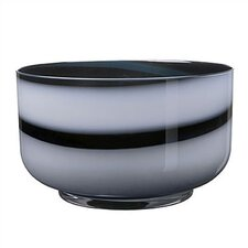 Twist Black & White Bowl
