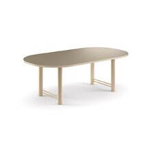 "72"" Wide Oval Top Conference Table with H Base"