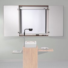 Conference Cabinet with Optional Projector Screen