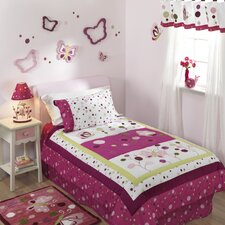 Raspberry Swirl Twin Bedding Collection