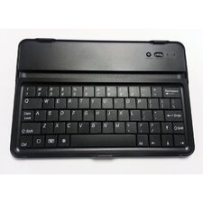 Mini Ipad Bluetooth Keyboard with Soft Cover Case