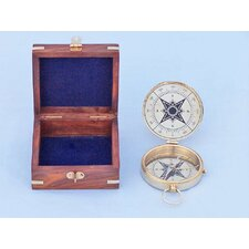 Emerson Poem Compass with Rosewood Box