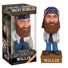 Duck Dynasty Willie Robertson Talking Wacky Wobbler Figure