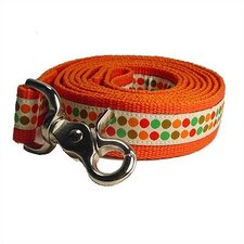 Doggy Dots Cotton Dog Leash