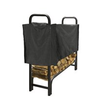 Outdoor Steel Log Rack