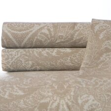 Tropical Damask Cotton Sheet Set
