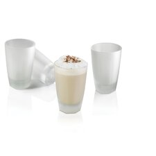 Arosse by Nuance Frosted Glass (Set of 4)