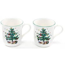 Christmastime 10 oz. Mug (Set of 2)