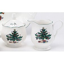 Happy Holidays Sugar and Creamer Set