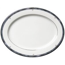 "Sentiments Moonstone 14"" Oval Platter"