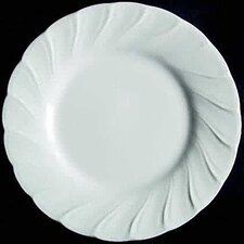 "White Satin 7"" Bread Plate"